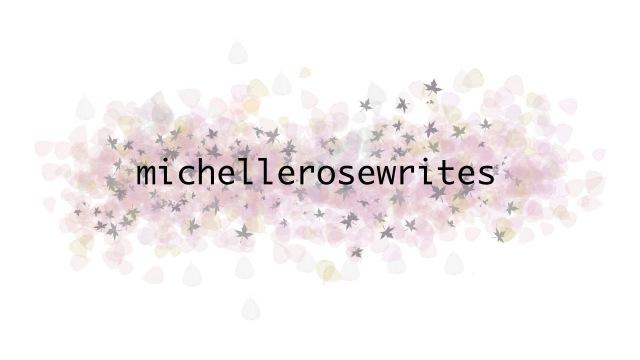 michellerosewrites logo v1